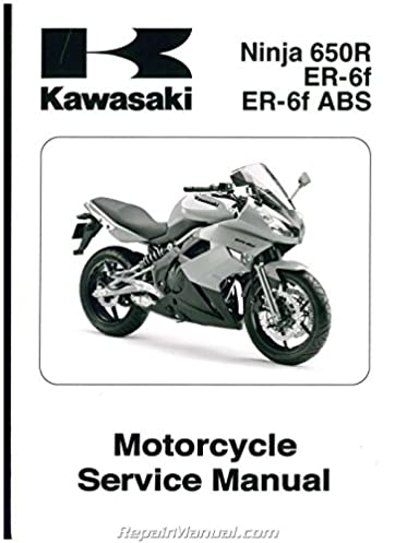 99924 1419 03 2009 2011 kawasaki ex650c ninja 650r service manual rh amazon com 2009 kawasaki versys 650 service manual 2009 ninja 650r owners manual