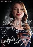Supergirl TV Show Print Melissa Benoist, Chyler Leigh, Calista Flockhart, Peter Facinelli (11.7