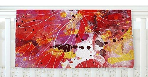 KESS InHouse Li Zamperini Flame Red Yellow Fleece Baby Blanket 40 x 30 [並行輸入品]   B0785RLR8Q