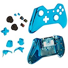 Game Bully Game Bully Xbox One Controller Full Housing Shell - Chrome Blue