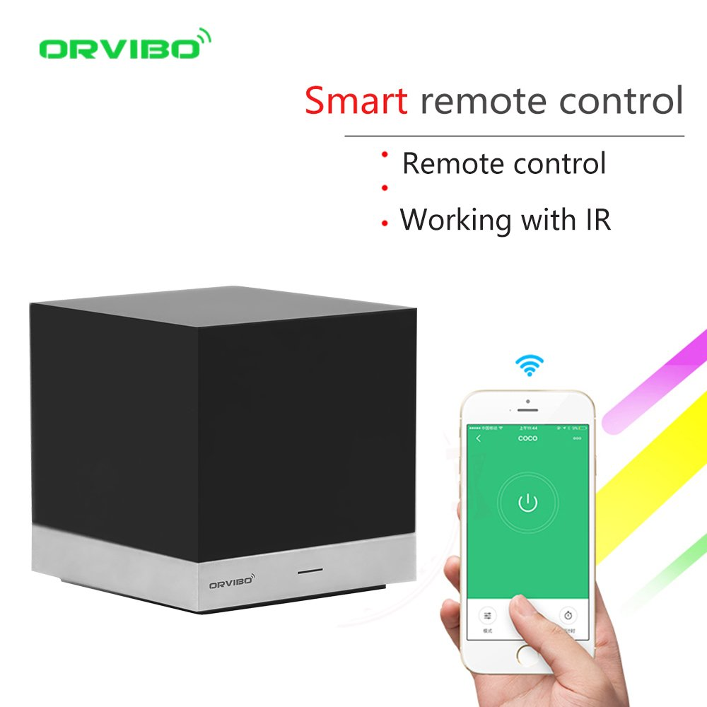ORVIBO IR Remote Control Hub Box Works with Amazon Alexa, Magic Cube Wireless Controller Smart Home WIFI Remote Control for android IOS phone