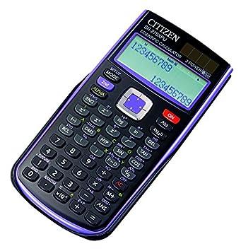 citizen sr 270xpu scientific table calculator lilac amazon co uk