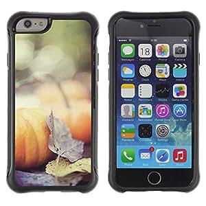Suave TPU GEL Carcasa Funda Silicona Blando Estuche Caso de protección (para) Apple Iphone 6 / CECELL Phone case / / Autumn Nature Halloween Leaves /