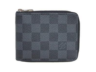 (ルイヴィトン) LOUIS VUITTON N61258 財布 メンズ 二つ折りラウンドファスナー札入れ ダミエグラ