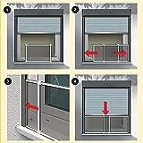 FLYZZZ Adjustable Sliding Window