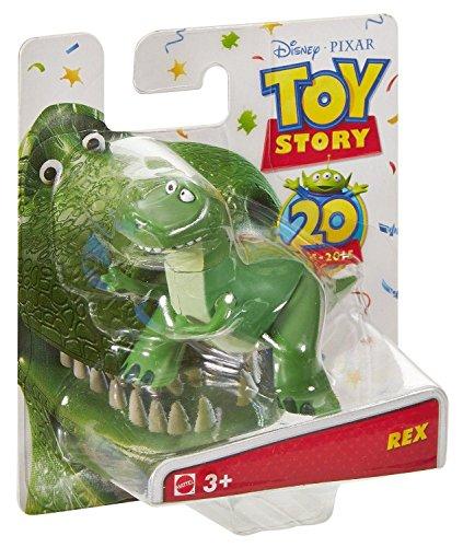 Disney Pixar Toy Story Buddy Singles 20th Anniversary Rex 3 Inch Figure