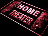 ADVPRO Home Theater Speaker Hi Fi Audio LED Neon Sign Red 24'' x 16'' st4s64-j108-r