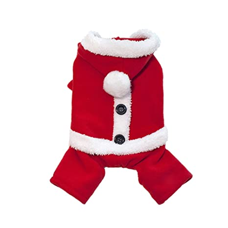 HSHXY Trajes de Navidad para Perros Ropa navideña para ...