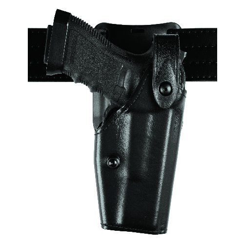 Safariland 6285 Level II SLS Retention Duty Holster 1.5-Inch Belt Drop Glock 1722 (Right Hand), Basket Weave Black (6285 Duty Holster Drop Belt)
