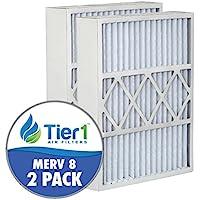 Day & Night MU1625 / M1-1056 16x25x5 MERV 8 Comparable Air Filter -2PK