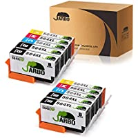 JARBO Compatible Ink Cartridge Replacement for HP 564 High Yield, 4 color, 10 packs(4 Black, 2 Cyan, 2 Magenta, 2 Yellow), Used in Photosmart 5520 6520 5510 6510 Officejet 4620 Deskjet 3520 Printer