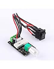 6-28V 3A DC Motor Speed Controller, PWM Speed Adjustable Reversible Switch