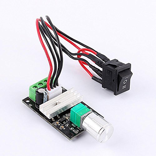 Motor Speed Controller PWM DC 6-28V 3A,Potentiometer Cntroller Regulator,Reversible Motor Speed Controller Switch (Wiring A Potentiometer To A Dc Motor)