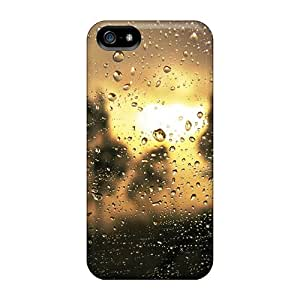 Protective Tpu Case With Fashion Design For Iphone 5/5s (drop Sunrise)