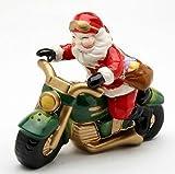 Cosmos Santa Motorcycle Salt & Pepper Set