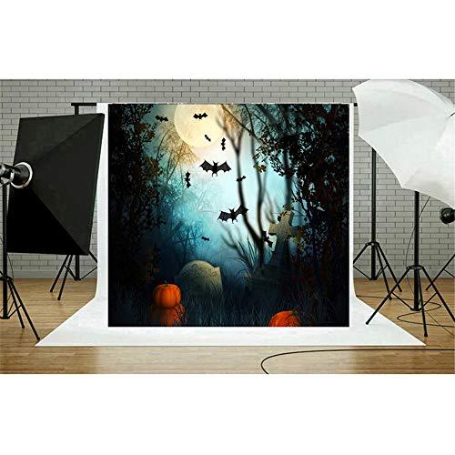 Theme Photography Background Halloween Pumpkin Head Theme Photo Cloth Horror 3d Digital Print Photography Background Cloth Without Wrinkles For Dress Up Party Photo Studio Video Shooting