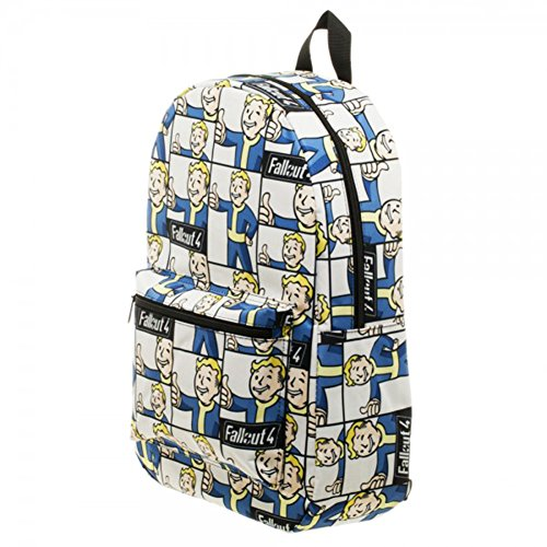 Fallout Vault Boy Sublimated Novelty Backpack