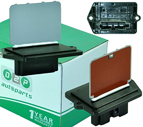D2P 27150-72B01, 2F220-0521, 27150-8H300, 27 Heater Blower Fan Motor Resistor: