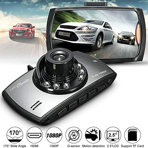Car Dash Cam KKGG Backup Dashboard Digital Camera Proof Recorder HD 2.5