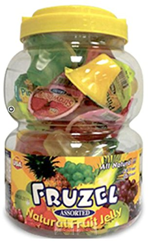 Fruzel Assorted Natural Fruit Juice Jelly Cups 51 (Assorted Cup)