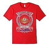 Mens Australia Celebrates 116th Birthdays Shirt 3XL Red