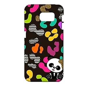 Samsung Galaxy S6 Phone Case Classical 3D Design Cover Case Cute Panda Pattern fit Samsung Galaxy S6 Back Case