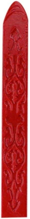 Sylvialuca Weinlese-altes Siegellack-Mehrfarbenpfeil-Muster-spezielles Wachs-Siegelwachs f/ür Hochzeits-Einladungs-Karten-Umschlag