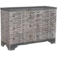 GUILD MASTER 642004 Waterfront Harmony Chest, Gray