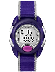 Timex Girls TW2R99100 Time Machines Digital Purple Fabric Strap Watch