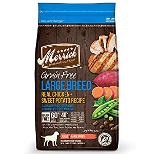 Merrick Grain Free Large Breed Dry Dog food
