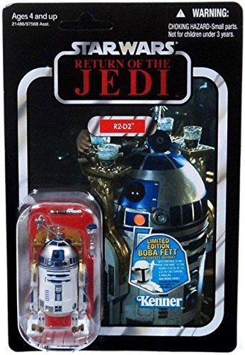 2011 SDCC Exclusive Star Wars Revenge of the Jedi Death Star R2-D2 VC25 MOC Hasbro Toys
