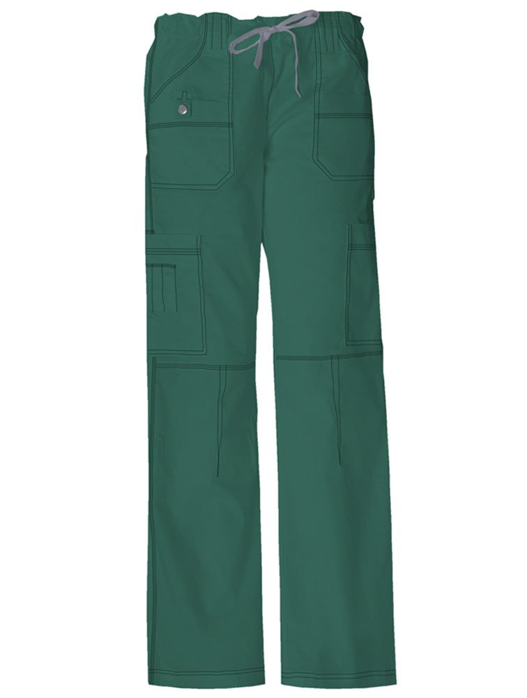 Dickies 'Youtility Cargo Pant' Scrub Bottoms Hunter X-Small Tall