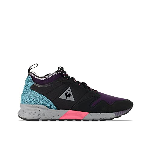 e87aec7e7ed6 Le Coq Sportif Omicron Textile Black 1720315  Amazon.co.uk  Shoes   Bags