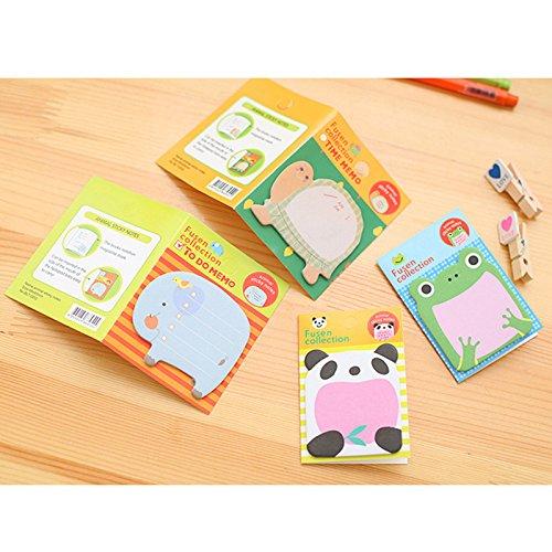 Spaufu 8/x blocchetti per stick-in notes lovely Cartoon Sticky memo Pad studenti cancelleria scuola ufficio forniture