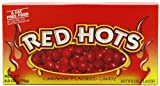Red Hots Cinnamon Candy, 6 Ounce Theatre Box, Pack of 12