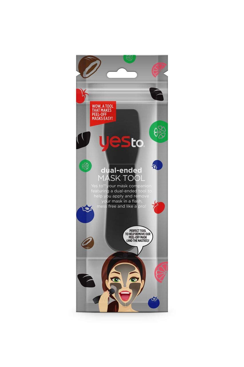 Yes To Face Mask Applicator Tool - Dual-ended Facial Mask Tool That Makes Masking Mess Free & Easy to Use | 1 Count