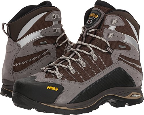Asolo Men's Drifter Evo GV Hiking Boots (11 D US, Cendre/Brown) (Self Cleaning Dual Fan)