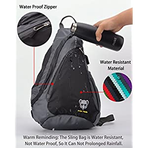 Sling Bag - Crossbody Backpack for Women & Men Travel Shoulder Chest Bags One Strap Pack by Polar Panda