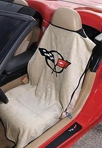 seat armour sa100cor5t tan 39 corvette c5 39 seat protector towel automotive. Black Bedroom Furniture Sets. Home Design Ideas