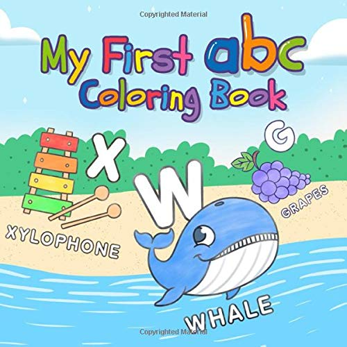My First ABC Coloring Book: Fun Preschool Toddler Alphabet Coloring Pages  For Kids 1-3 Years Old: Clever Kids Lab: 9781952573798: Amazon.com: Books