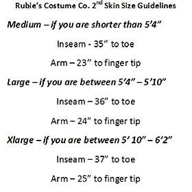 - 51VduK7V 2BUL - Rubie's Adult Solid Color 2nd Skin