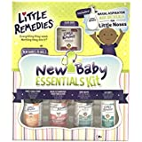 Little Remedies New Baby Essentials Kit | A Gift Set for New Moms | 6 Products Featuring Little Remedies & Boudreaux's Butt Paste Products