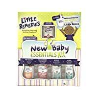Little Remedies, Paraben Free, New Baby Essentials Kit (Saline Drops, Gripe W...