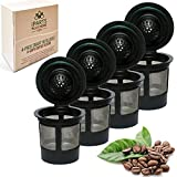 4 Reusable Single Cup Keurig Solo Filter Pod Coffee Stainless Mesh (iPartsPlusMore
