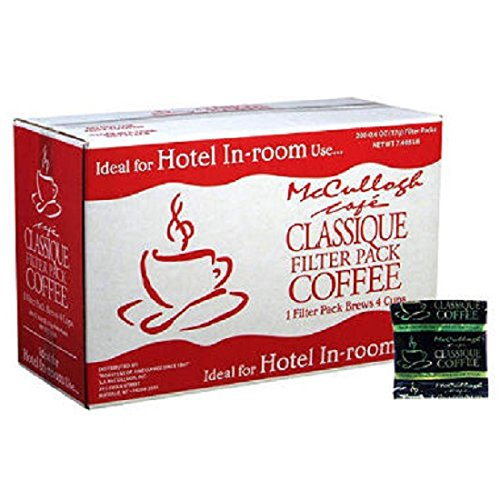 - McCullagh Cafe Classique Filter Pack Coffee (200 ct.)ES