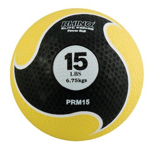 Champion Sports Rhino Elite Medicine Ball (15-Pounds) by Champion Sports
