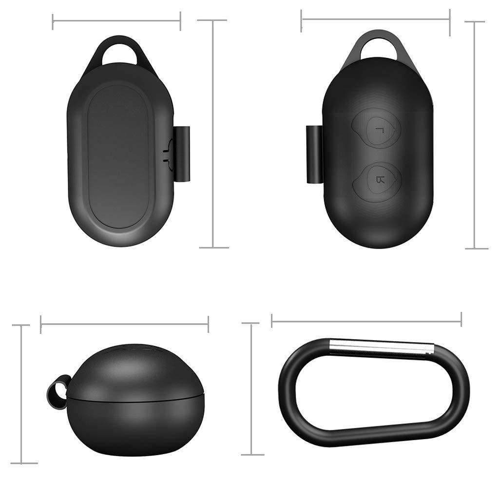 Kafen Cubierta De Auriculares,Funda Protectora Integral De Silicona Flexible Antichoque Cubierta Completa para Samsung Galaxy Buds Deportes Bluetooth Auriculares Accesorios