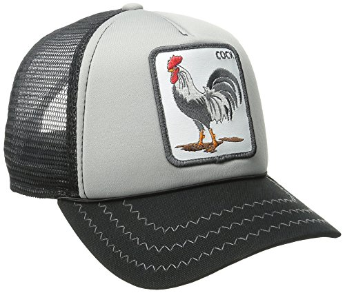 Goorin Bros. Men's Animal Farm Baseball Dad Hat Trucker, Gray, One Size
