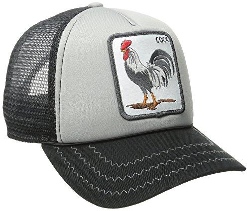 - Goorin Bros. Men's Animal Farm Baseball Dad Hat Trucker, Gray, One Size