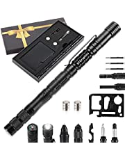 Gifts for Men Dad 24-in-1 Tactical Pen Unique Birthday Gift Idea for Him Boyfriend Grandpa Women, Cool Gadgets Stuff Gifts for Men